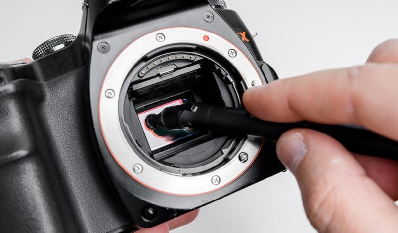 Jak wyczyścić matrycę w aparacie