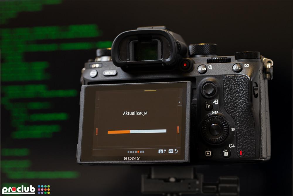 aktualizacja oprogramowania w aparacie