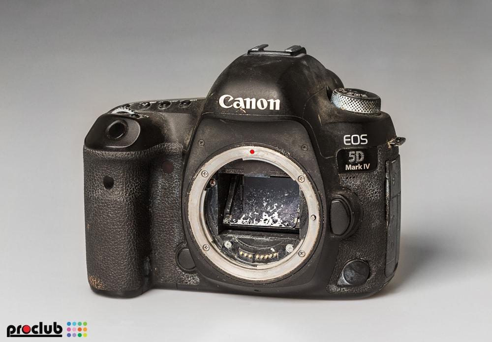 zalany aparat nie włącza się