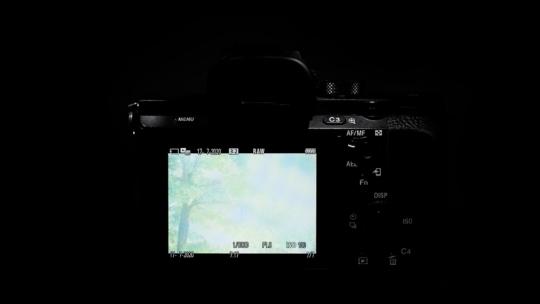 aparat robi prześwietlone zdjęcia