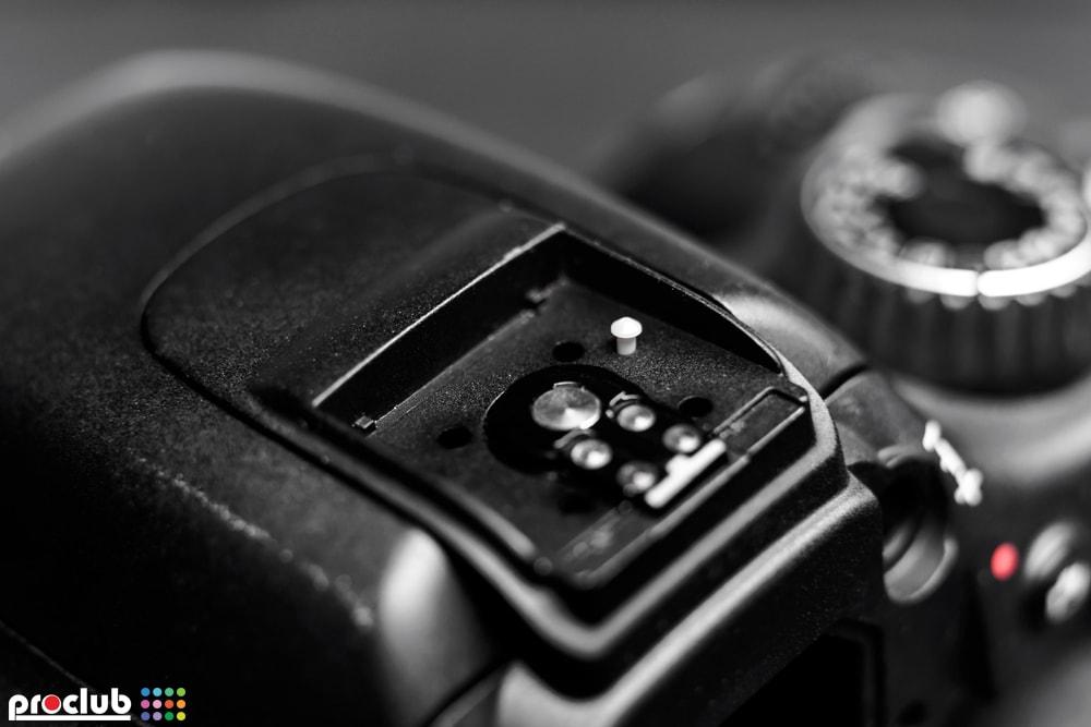 uszkodzony czujnik montażu lampy błyskowej Canon