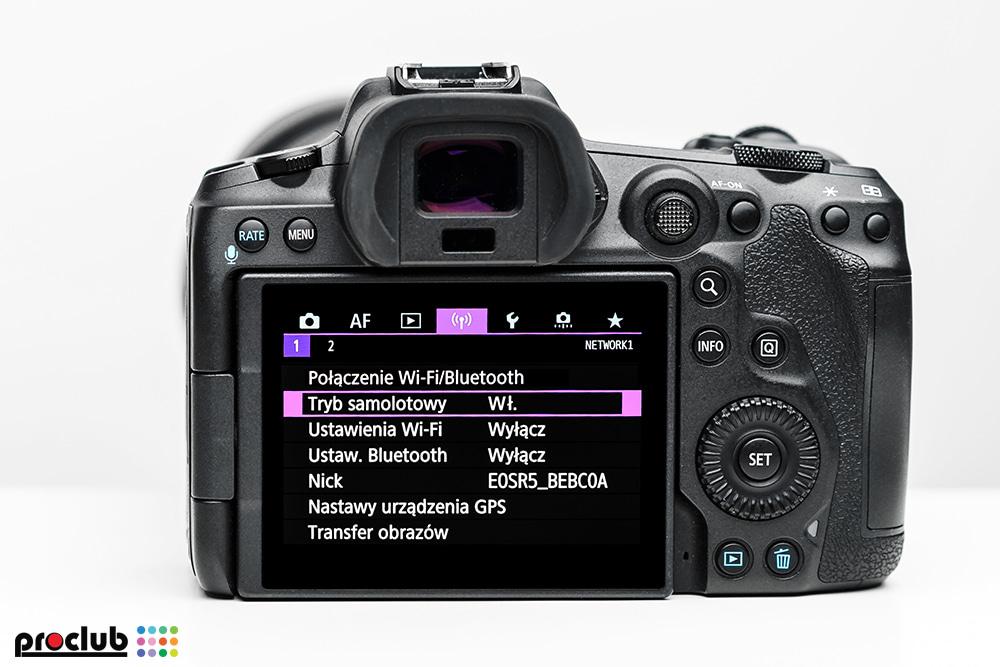 Ustawienia aparatu Canon